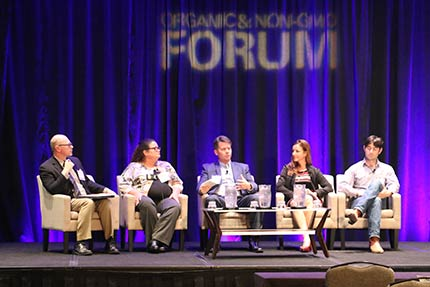 Certified Transitional: Approaches to the Market Panel at the  Organic & Non-GMO Forum