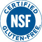 NSF Certified Gluten-free Mark